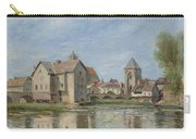 The Bridge And Mills Of Moret Sur Loing Carry-all Pouch