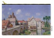 The Bridge At Moret Carry-all Pouch
