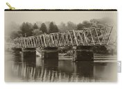 The Bridge At Washingtons Crossing Carry-all Pouch by Bill Cannon