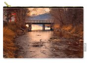 The Bridge By The Lake Carry-all Pouch