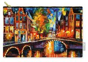 The Bridges Of Amsterdam Carry-all Pouch