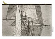The Brig Hms Beagle From Journal Of Carry-all Pouch