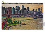 Vintage Brooklyn Bridge Carry-all Pouch