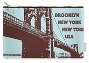 The Brooklyn Bridge, New York, Ny Carry-all Pouch