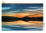 The Brush Strokes Of Evening Carry-all Pouch by Tara Turner