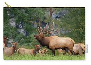 The Bugling Bull Elk Carry-all Pouch