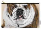 The Bull Dog Pup Carry-all Pouch