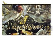The Burial Of The Count Of Orgaz 1587 Carry-all Pouch