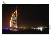 The Burj Al Arab At Night Carry-all Pouch