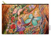 The Butterflies On Wind Carry-all Pouch