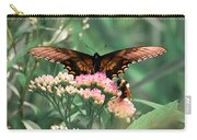 The Butterfly And The Bumblebee Carry-all Pouch
