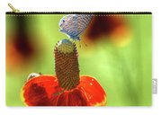 The Butterfly And The Coneflower Carry-all Pouch