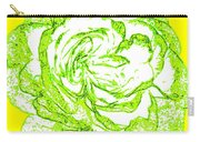 The Cabbage Rose Carry-all Pouch