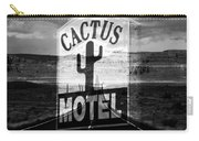 The Cactus Motel Carry-all Pouch
