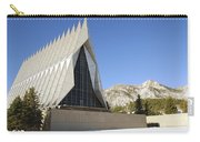 The Cadet Chapel At The U.s. Air Force Carry-all Pouch
