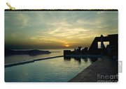 The Caldera View In Santorini Carry-all Pouch