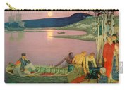 The Call Of The Sea Carry-all Pouch by Frederick Cayley Robinson