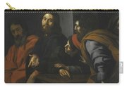 The Calling Of Saint Matthew Carry-all Pouch