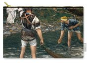 The Calling Of Saint Peter And Saint Andrew Carry-all Pouch by Tissot