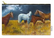 The Calm After The Storm Carry-all Pouch by Frances Marino