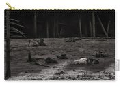 The Canyon Alphas B/w Carry-all Pouch
