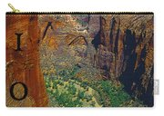 The Canyon Of Zion Carry-all Pouch