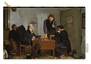 The Card Players Carry-all Pouch by  Richard Caton Woodville