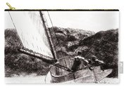 The Cat Boat, Edward Hopper Carry-all Pouch