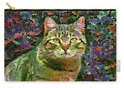 The Cat Who Loved Flowers 1 Carry-all Pouch