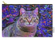 The Cat Who Loved Flowers 3 Carry-all Pouch