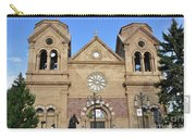The Cathedral Basilica Of St. Francis Of Assisi, Santa Fe, New M Carry-all Pouch