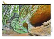 The Caves At Old Man's Gorge Trail Hocking Hills Ohio Carry-all Pouch