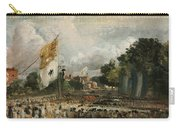 The Celebration In East Bergholt Of The Peace Of 1814 Concluded In Paris  Carry-all Pouch