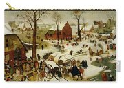 The Census At Bethlehem Carry-all Pouch