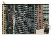 The Chandler Condominiums Building Chicago Aerial Carry-all Pouch