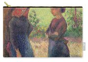 The Chat Carry-all Pouch by Camille Pissarro