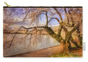 The Cherry Blossom Festival Carry-all Pouch by Lois Bryan