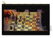 The Chess Game, New York City C. 1977 Carry-all Pouch