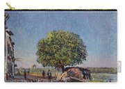 The Chestnut Tree At Saint-mammes Carry-all Pouch