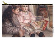 The Children Of Martial Caillebotte Carry-all Pouch by Pierre Auguste Renoir