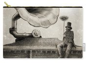 The Chimney Sweep Monochrome Carry-all Pouch by Eric Fan