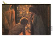 The Christmas Tree Carry-all Pouch by Henry Mosler