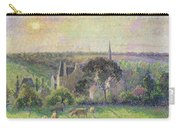 The Church And Farm Of Eragny Carry-all Pouch