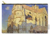 The Church At Moret Carry-all Pouch