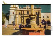 The Church Of San Juan Bautista Of Coyoacan 2  Carry-all Pouch