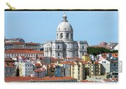 The Church Of Santa Engracia And Rooftops -- Lisbon Carry-all Pouch