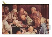The Circumcision Of The Child Jesus 1640 Carry-all Pouch