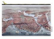 The City Of Boston Carry-all Pouch