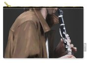The Clarinet Player Carry-all Pouch