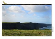 The Cliff's Of Moher In Ireland With Beautiful Skies Carry-all Pouch
